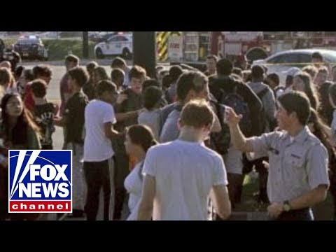 Students describe Florida high school shooting scene