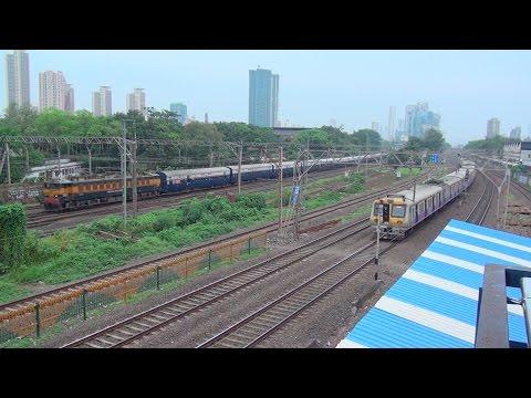 MUMBAI --- Its Booming Rail Traffic & Zooming Skyline !!!