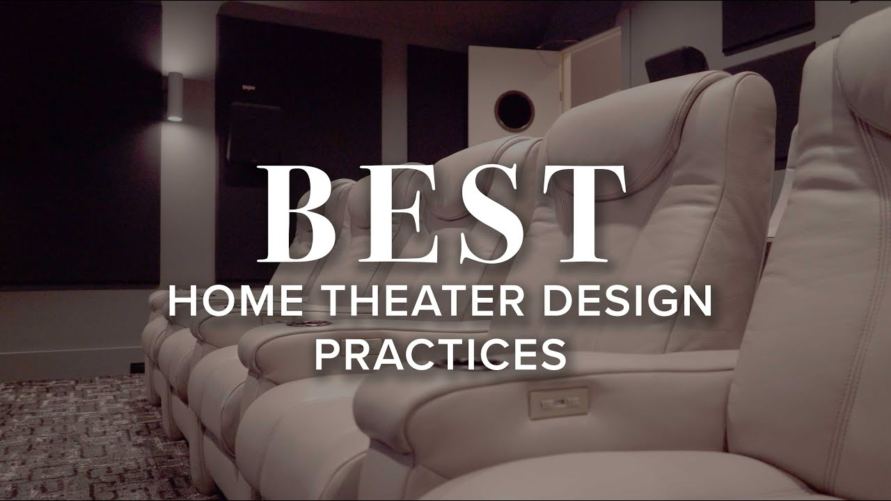 Home Theater Layout And Design Best Practices For 2020 Audio Advice