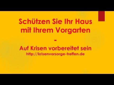 Schützen Sie Ihr Haus mit Ihrem Vorgarten - Krisenvorsorge-treffen.de