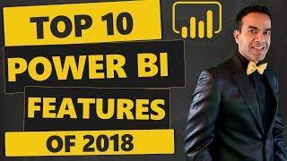 Top 10 Power BI Features of 2018
