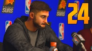 "NBA 2K17 My Career Gameplay Walkthrough - Part 24 ""NO BREAKS FOR A CHAMP"" (Let"