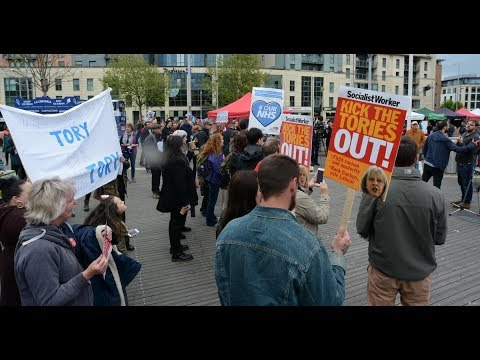 LIVE: 'Tories out' demonstration hit the streets of London