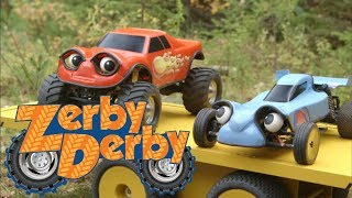 Zerby Derby |🚗| FORCE OF WHEEL |🌲| DRIFTWOOD DILEMMA |🗻| ZERBY TOWN MOUNTAIN | Full Episodes