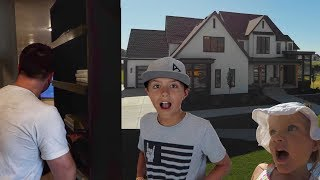 KIDS GET LOST INSIDE A SECRET ROOM WHILE TOURING A MULTI-MILLION DOLLAR MANSION!