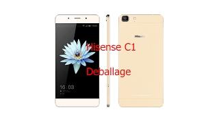 Hisense C1 - Déballage (FR)