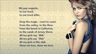Скачать Miley Cyrus Rock Mafia Morning Sun OFFICIAL VERSION HD Lyrics On A Screen