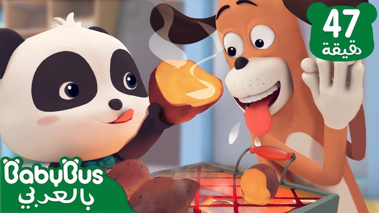 سيد دوا جائع | رسوم متحركة | كرتون الاطفال | تعليم اللغة الصينية | بيبي باص | BabyBus Arabic