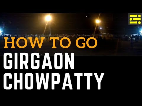 How to go Girgaon Chowpatty by Mumbai Local Train || Icepeak Travel