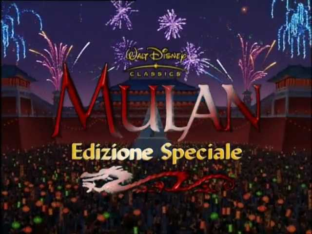 Mulan Trailer ita