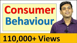 Consumer Behaviour - Marketing Lecture by Prof. Vijay Prakash Anand