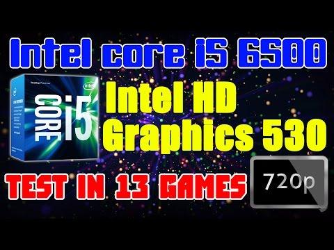 Intel HD Graphics 530 (core i5 6500) - тест в 13 играх - 720p