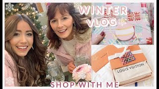 SHOP WITH ME FOR CHRISTMAS VLOG | TARGET  + LOUIS VUITTON UNBOXING!