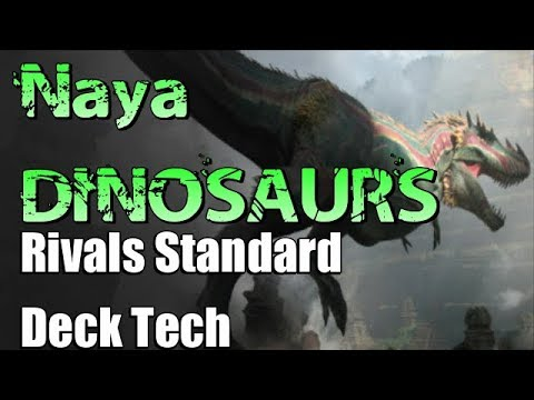 Mtg Deck Tech: Naya Dinosaurs in Rivals of Ixalan Standard!