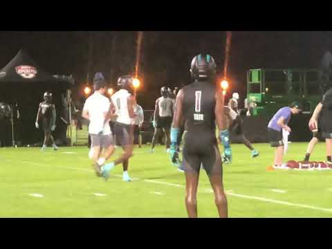 DBs Vs WRs | UA All America Practice Day 1 2020 | Life And Football