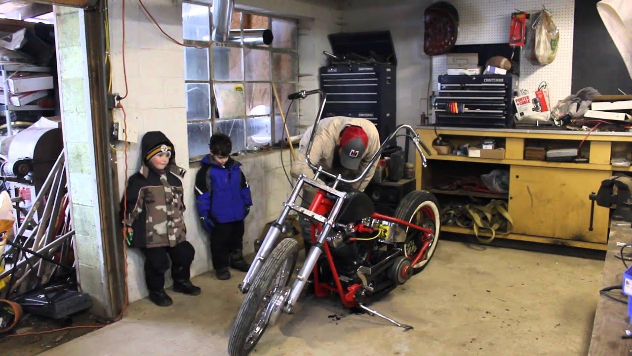 1971 Harley Davidson Shovelhead Vintage Chopper Project