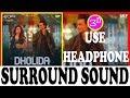 3D SONG  Dholida  LOVEYATRI | Neha Kakkar | ALL MUSIC WORLD & 3D SONG USE HEADPHONE