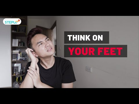 Think on someones feet: Quyết định nhanh | Be Fluent In A Minute #4 | Step Up English