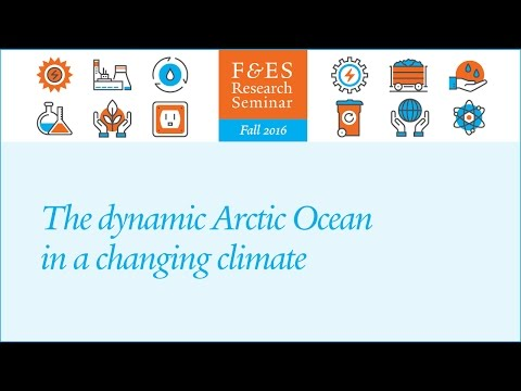 Research Seminar – The dynamic Arctic Ocean in a changing climate (Mary-Louise Timmermans)