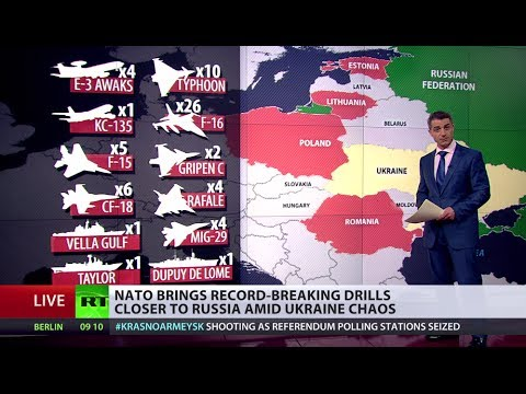 Eastward Expansion? NATO stages record drills in Estonia amid Ukraine unrest