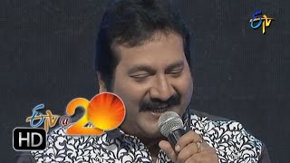 Mano,Sunitha Performance   Mava Mava Song in Tirupathi ETV @ 20 Celebrations
