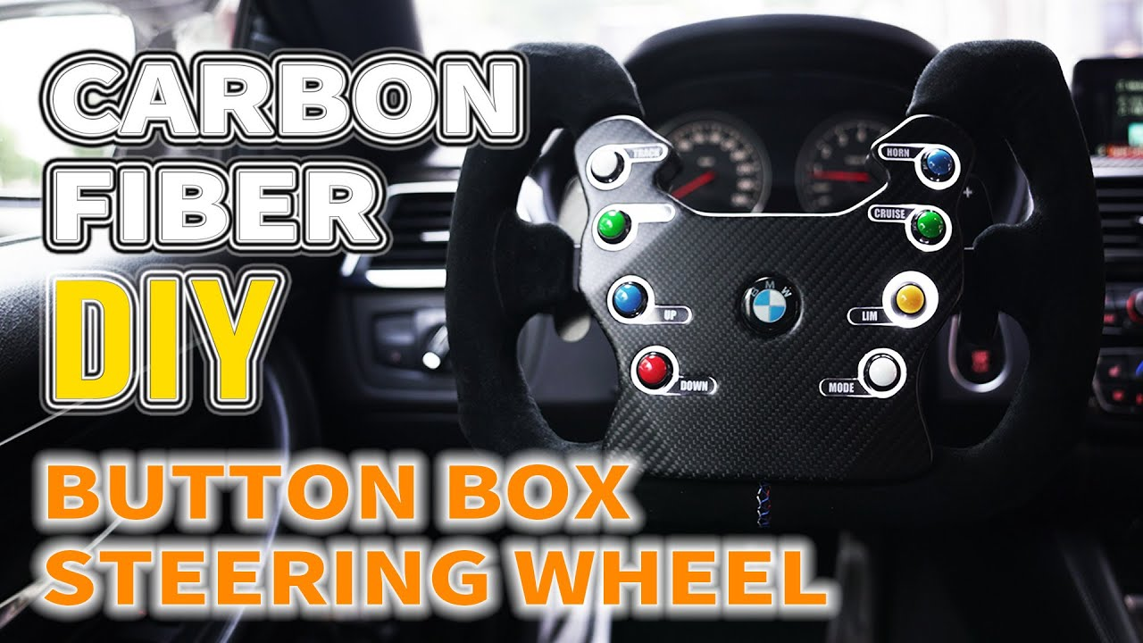 How to Make a Race Car Steering Wheel with Prepreg Carbon Fiber [DIY]