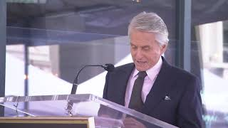 Michael Douglas celebrates 50 years in Hollywood