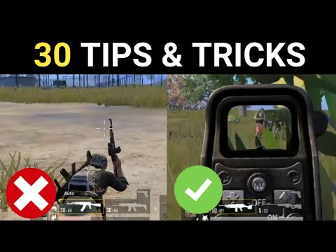Top 30 Tips & Tricks In Pubg Mobile | Pubg Mobile Tips And Tricks