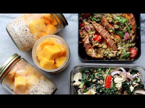 Easy Summer Vegan Meal Prep - Fresh & Healthy Recipes 🌞