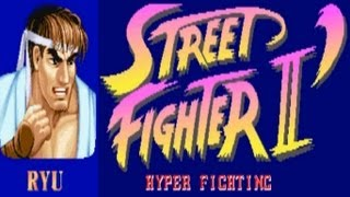 Street Fighter II - Hyper Fighting - Ryu (Arcade)