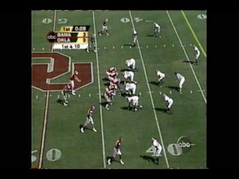 Alabama @ Oklahoma 2002 *(first half highlights)* from 9/07/02