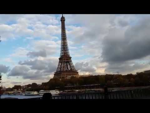Eiffel Tower | Bir-Hakeim Paris Bridge | Paris Metro Line 6
