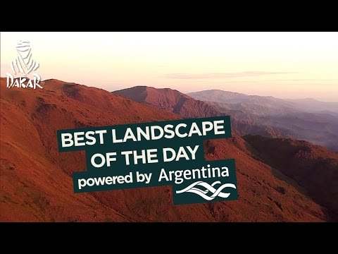 Stage 3 -Landscape of the day; powered by Argentina