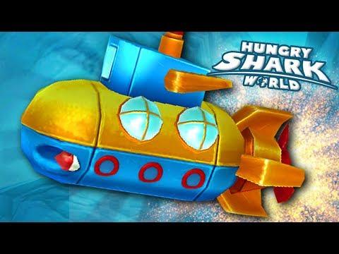 NEW PET NAUTILUS!!! - Hungry Shark World   Ep 52 HD