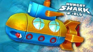 NEW PET NAUTILUS!!! - Hungry Shark World | Ep 52 HD