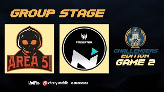 Just ML Cup Challenger's Edition NXP Area51 vs NXP Solid Game 2 (BO3) | Just ML Mobile Legends