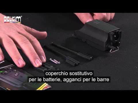 Safe D Carbon Snag Bars con sottotitoli in italiano