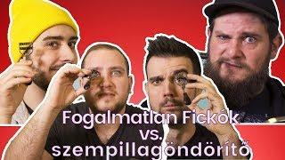 FOGALMATLAN FICKÓK VS. SZEMPILLAGÖNDÖRÍTŐ 😻🤣   LILULAND