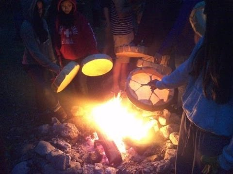 aboriginal campfire tuning your aboriginal drum with david finkle youtube