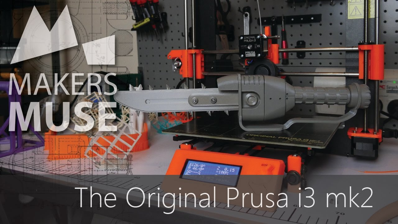 video Prusa Research Original Prusa i3 MK2S 3D Printer