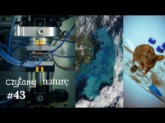 Czytamy naturę #43 | Ogrzewanie przez próżnię - Skąd tlen? - O korzyściach z MDMA (ecstasy)