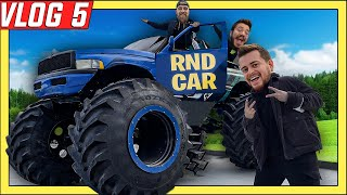 YENİ DEV CANAVAR ARABAMIZ!! **RND MONSTER CAR** VLOG 5
