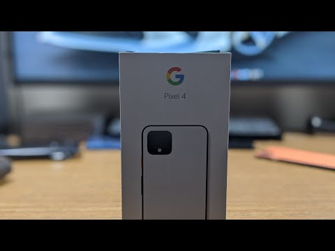 Google Pixel 4 | Clearly White Unboxing & First Impressions #Pixel4