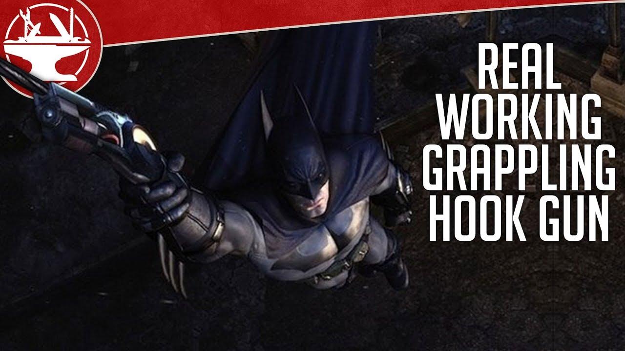 A cosplayer made batmans grappling gun irl and it is nuts nerdist