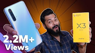 realme X3 SuperZoom Unboxing & First Impressions ⚡⚡⚡120Hz, SD855+, 60X Zoom & More