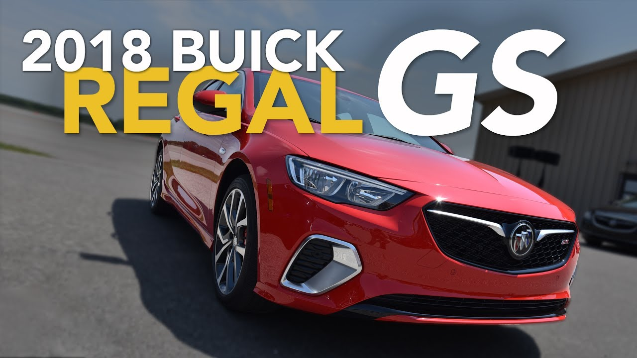 2018 Buick Regal Gs Debuts Buick Regal Gs First Drive Youtube