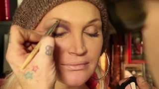 makeup artist billy b presents b coming kylie sonique love a colorful smokey eye makeup tutorial