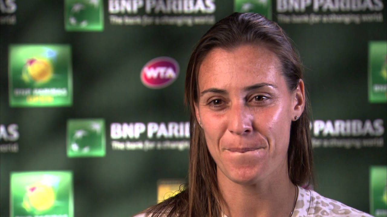 Douglas Dick Wallpapers Pennetta Overcomes Emotions to Fight Past Sharapova Tennis Now