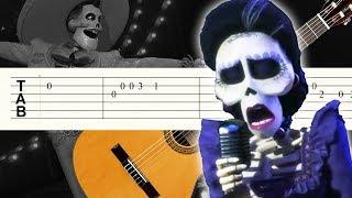 Llorona - Coco - Guitarra Tutorial - Punteo