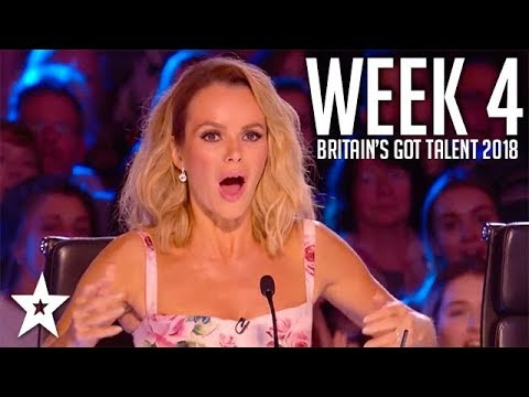 Britain's Got Talent 2018 | WEEK 4 | Auditions | Got Talent